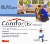Comfortis for Large Dogs 18.1-27kg 6 pack (Blue)