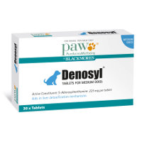 Denosyl Tablets 225mg for Medium Dogs 6 to 16kg 30's