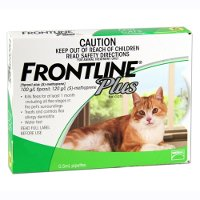 Frontline Plus Cat All sizes (Green) 3 pack