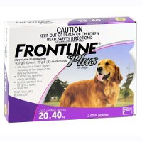 Frontline Plus Large Dog 20 to 40kg (Purple) 3 pack