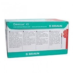 Omnican 40 Caninsulin Syringes 1ml 30G Box of 100
