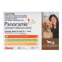 Panoramis for Extra Large Dogs 27.1-54kg 6 pack (Brown)