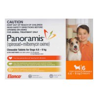 Panoramis for Small Dogs 4.6-9kg 6 pack (Orange)