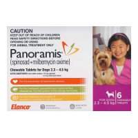 Panoramis for Very Small Dogs 2.3-4.5kg 6 pack (Purple)