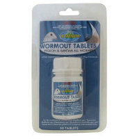 Wormout Tablets for Pidgeons and Bantams 50s