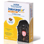 Interceptor Spectrum Chews for Dogs 11-22kg (Yellow)