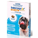 Interceptor Spectrum Chews for Dogs 22-45kg (Blue)