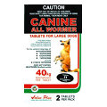 Canine Allwormer Tablets for Large Dogs 40kg