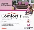 Comfortis for Dogs 2.3-4.5kg and Cats 1.4-2.7kg 6 pack (Pink)