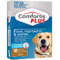 Comfortis PLUS (Panoramis) for Very Large Dogs 27.1-54kg (Brown)