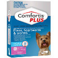 Comfortis PLUS (Panoramis) for Very Small Dogs 2.3-4.5kg (Pink)