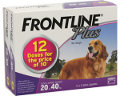 Frontline Plus Large Dog 20 to 40kg (Purple) 12 pack