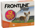 Frontline Plus Small Dog Up to 10kg (Orange) 12 pack