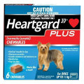 Heartgard Plus Chews Small Dog Up to 11kg (Blue) 6 pack