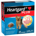 Heartgard Plus Chews Small Dog Up to 11kg (Blue) 12 pack