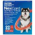 NexGard SPECTRA for Extra Large Dogs 30-60kg (Red)