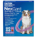 NexGard SPECTRA for Large Dogs 15-30kg (Purple)