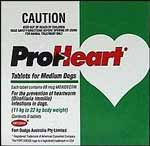 Proheart Medium Dog - 11 to 22kg (Green) - 6 pack