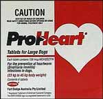 Proheart Large Dog - 23 to 45kg (Red) - 6 pack