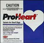 Proheart Small Dog - Up to 10kg (Blue) - 6 pack