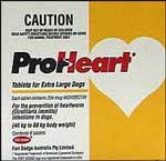 Proheart Extra Large Dog - 46 to 68kg (Yellow) - 6 pack