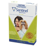 Sentinel Spectrum CHEWS for Dogs 4.5 to 11 kg (Green)