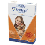 Sentinel Spectrum CHEWS for Dogs Up to 4 kg (Brown)